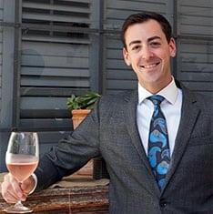 David Fainberg, Sommelier & Manager of bouchon Santa Barbara